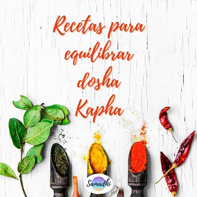 recetario kapha